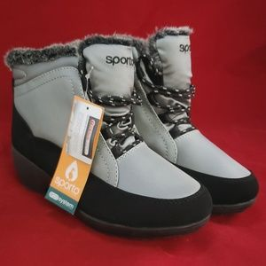 🆕️Sporto Winter Shoes Water Resist Ladies Sz 8.5M